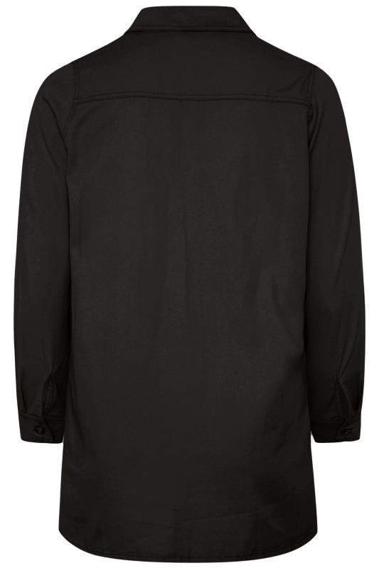 Black Distressed Denim Shirt_BK.jpg