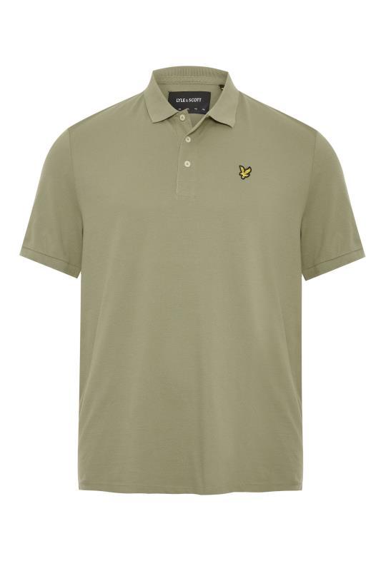 Plus Size  LYLE & SCOTT Moss Green Polo Shirt