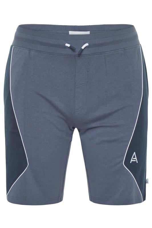 Plus Size  STUDIO A Blue Jogger Shorts