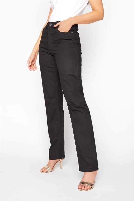 LTS Black Straight Leg RUBY Jeans