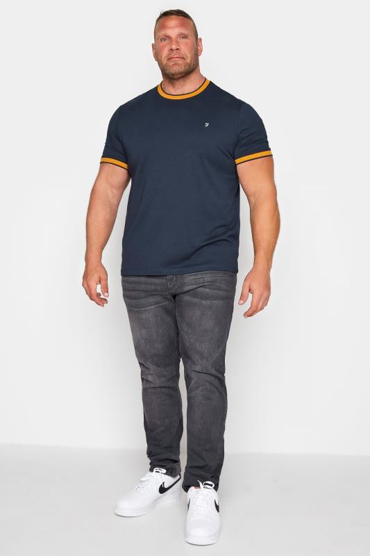 FARAH Navy Spruce T-Shirt_M2.jpg