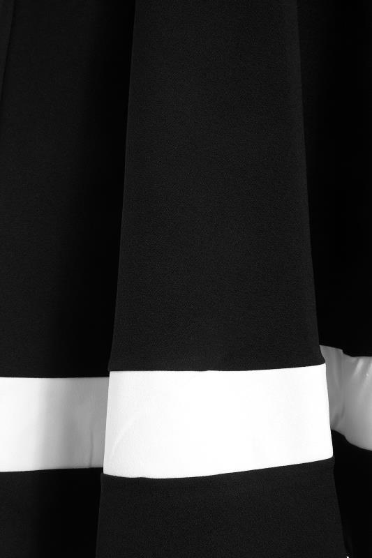 YOURS LONDON Black Notch Neck Skater Dress_S.jpg