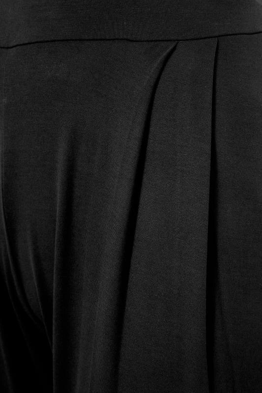 LIMITED COLLECTION Black Pleated Wide Leg Trousers_S.jpg