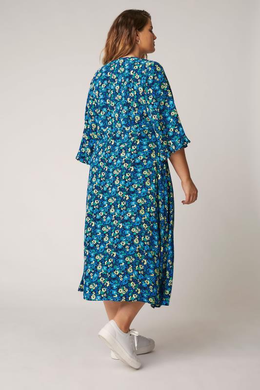 THE LIMITED EDIT Blue Floral Midaxi Dress_E.jpg