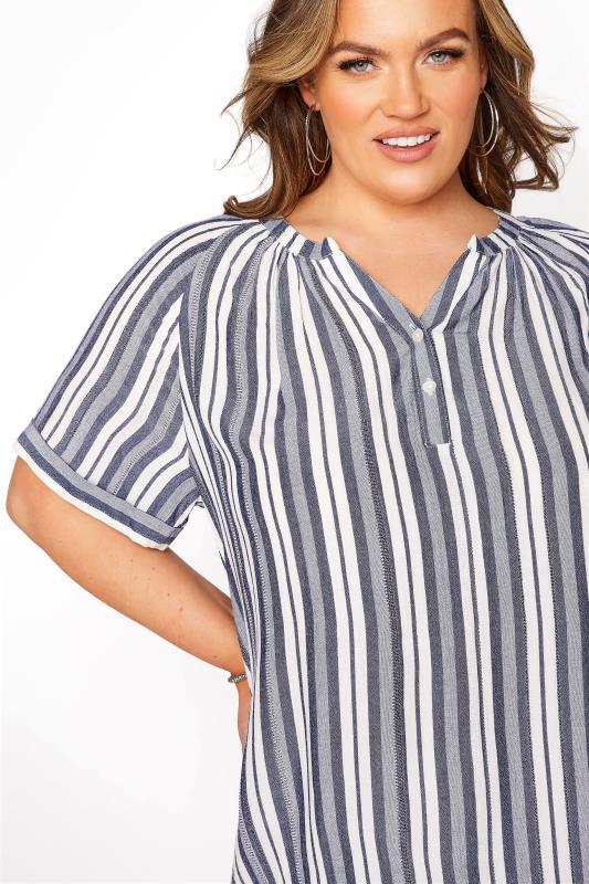 Blue Stripe Raglan Sleeve Shirt_D.jpg