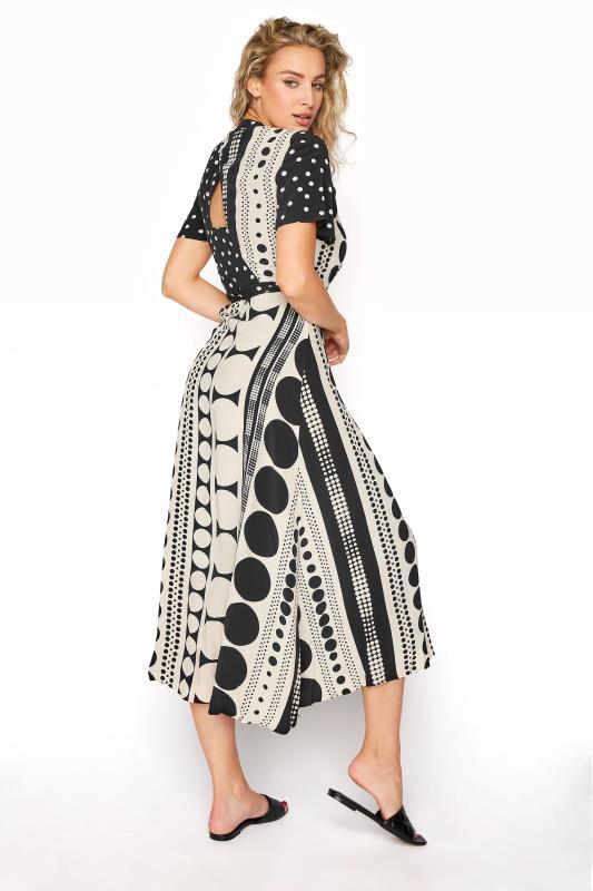 Black Spot Print Midi Wrap Dress_C.jpg