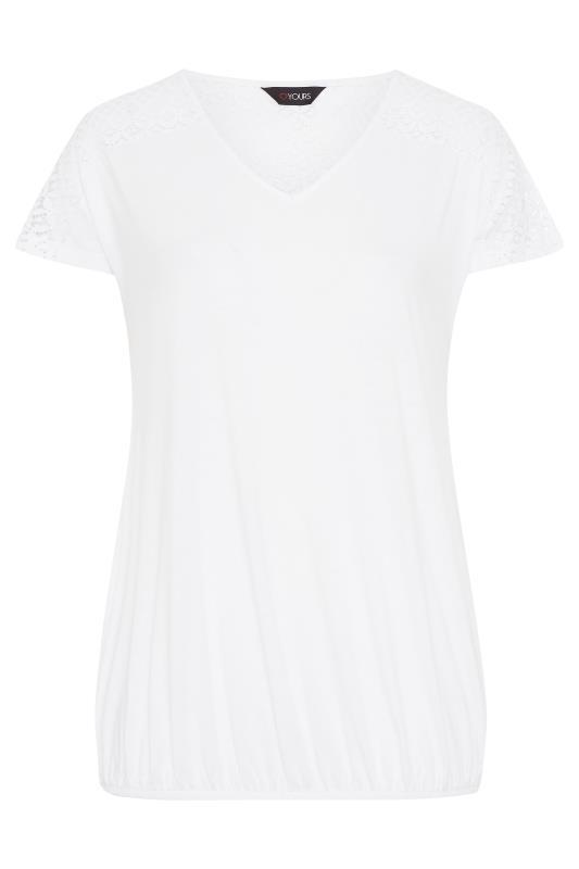 White Lace Sleeve Bubble Hem Top_F.jpg