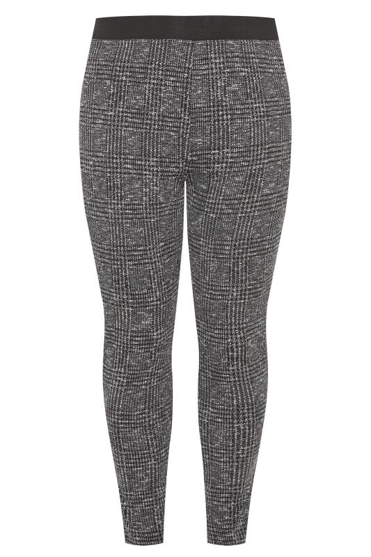 Grey Boucle Check Slim Fit Trousers_F.jpg