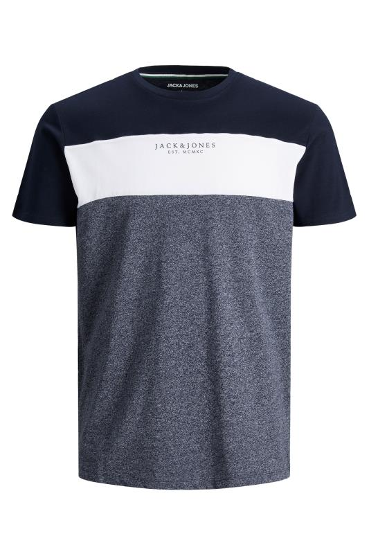 JACK & JONES Navy Monse T-Shirt_F.jpg