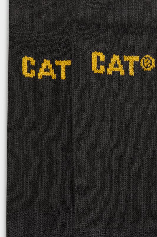 CATERPILLAR 3 PACK Charcoal Grey Work Socks