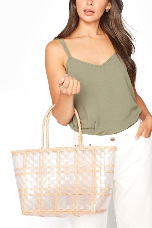 Yours Natural Straw Bag