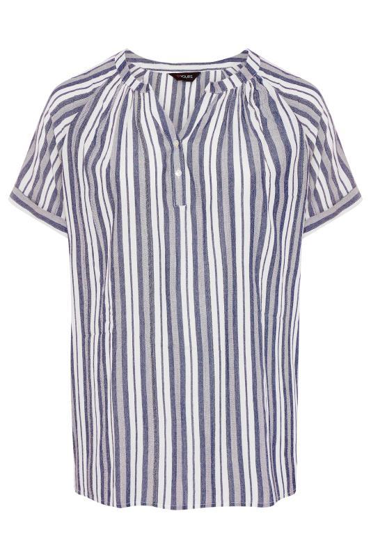 Blue Stripe Raglan Sleeve Shirt_F.jpg