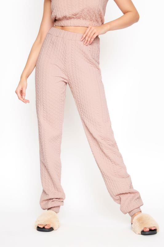 LTS Pink Cable Print Co-ord Joggers