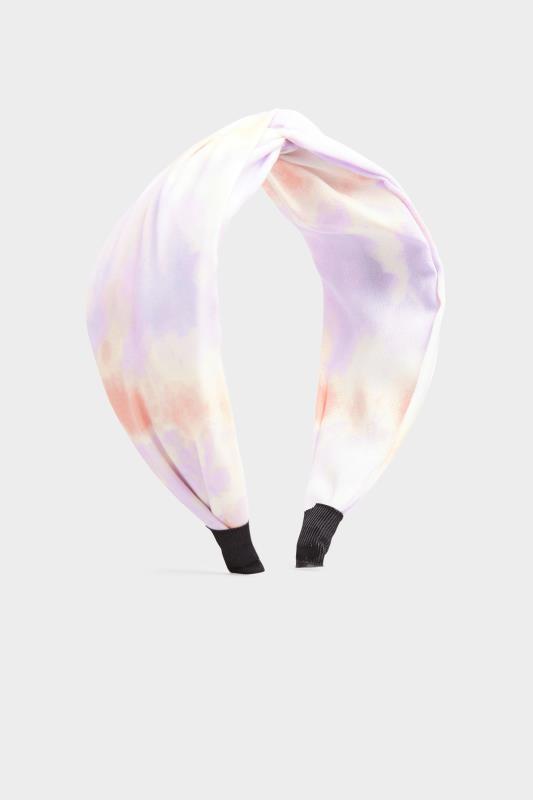 Lilac Tie Dye Twist Headband_A.jpg
