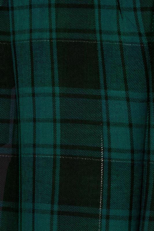 Forest Green Zip Check Shirt_S.jpg