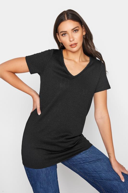 LTS Black V-Neck T-Shirt_A.jpg
