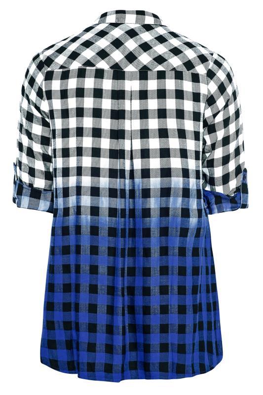Blue Ombre Check Boyfriend Shirt_BK.jpg