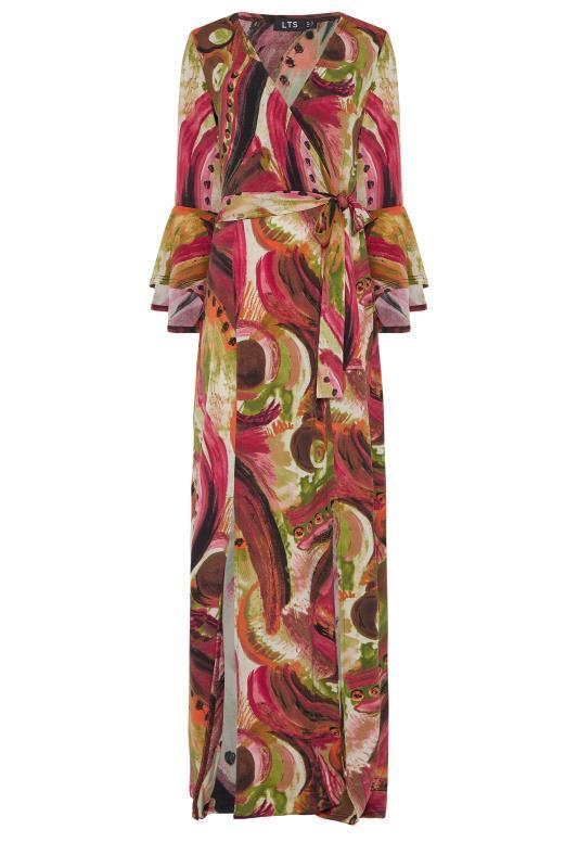 LTS Red Flute Sleeve Maxi Dress_f.jpg