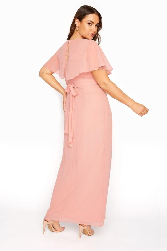 Pink Angel Sleeve Maxi Dress_C.jpg