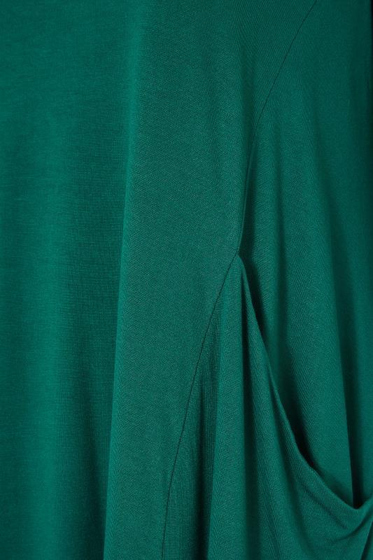 Forest Green Drape Pocket Dress_S.jpg