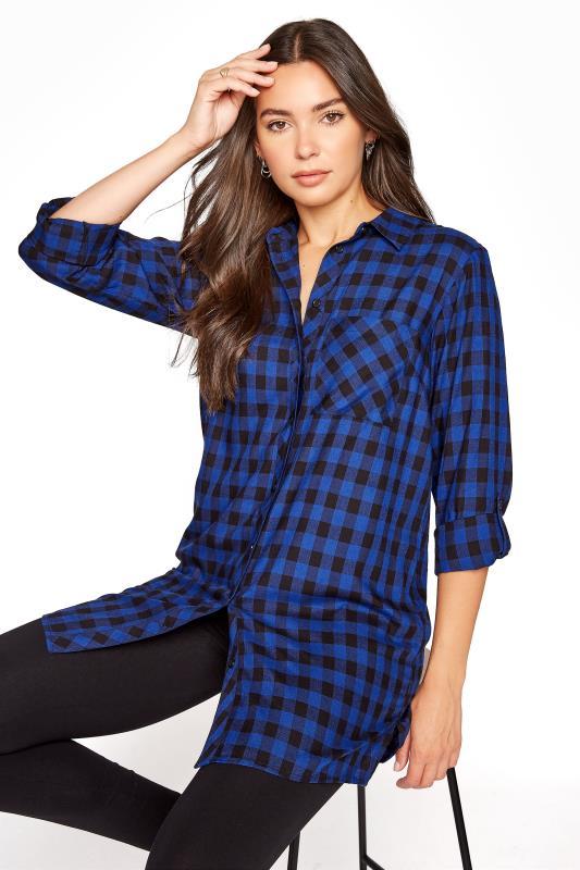 LTS Cobalt Check Shirt