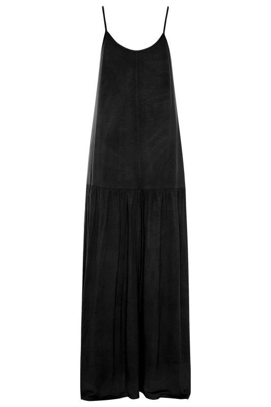 LTS Black Strappy Drop Waist Maxi Dress_BK.jpg