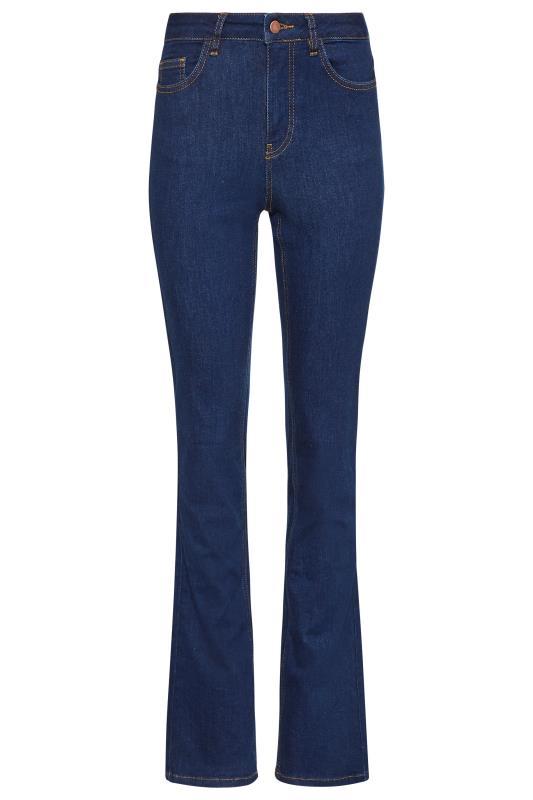 Deep Indigo Blue Ultra Stretch Bootcut Jeans_F.jpg