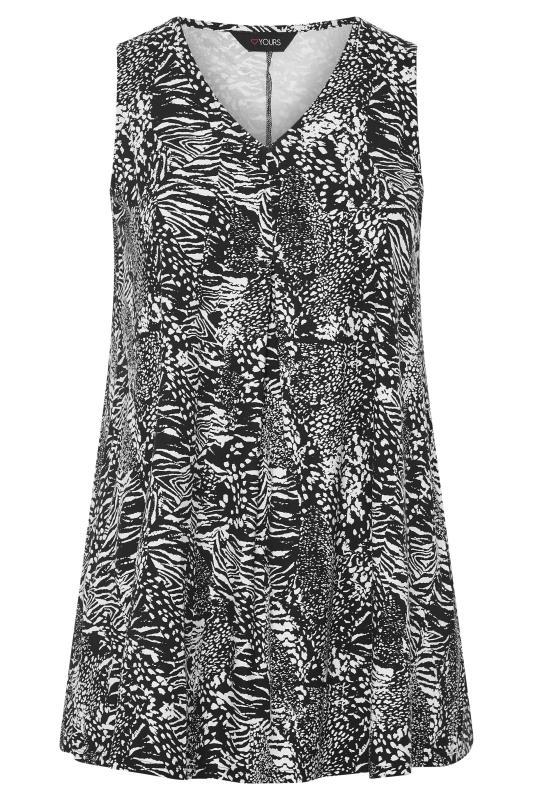 Black Animal Print Swing Vest Top_F.jpg