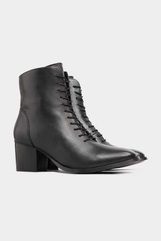Black Leather Lace Up Heeled Boots In Extra Wide Fit_B.jpg