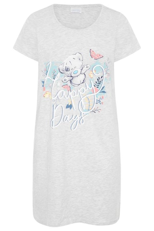 Grey Tatty Teddy 'Happy Days' Slogan Nightdress_F.jpg