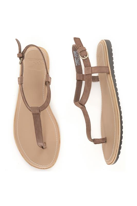 SOREL Brown T-Bar Sandals_B.jpg