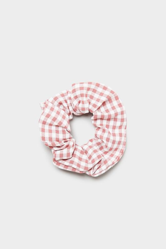 3 Pack Pink and Black Gingham Scrunchie Set_A.jpg