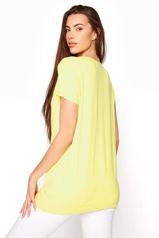 LTS Yellow Soft Touch Grown On Sleeve T-Shirt_C.jpg
