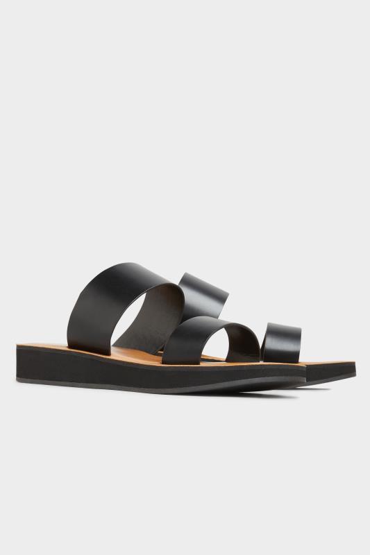 LTS Black Two Strap Flat Sandals_B.jpg