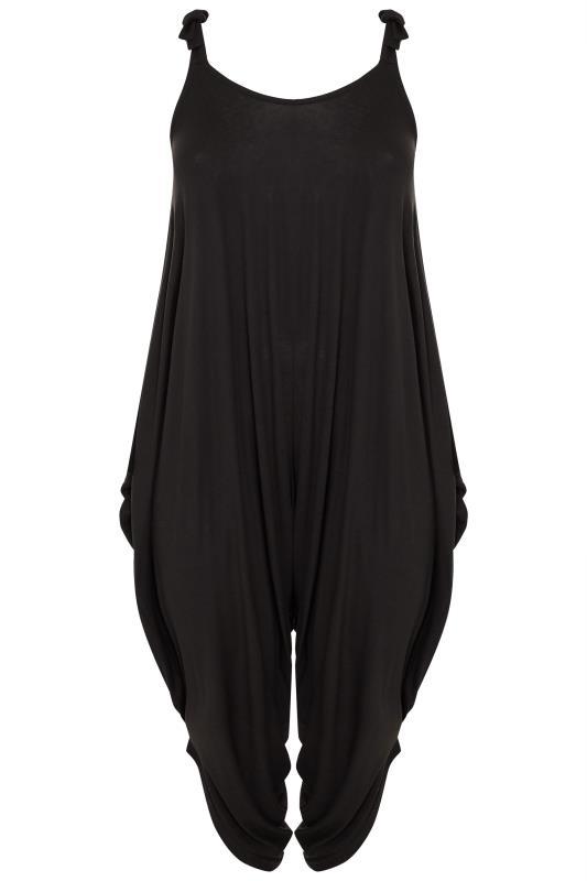 Black Harem Jersey Jumpsuit_F.jpg