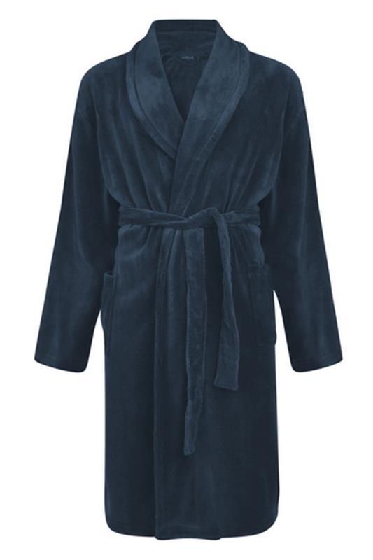 Tallas Grandes ESPIONAGE Navy Dressing Gown