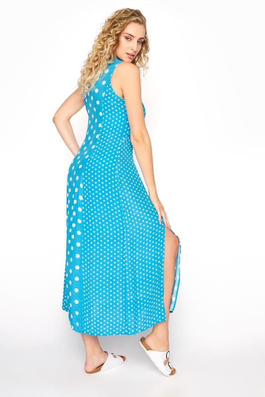 Blue Mix Spot Print Midi Dress_C.jpg