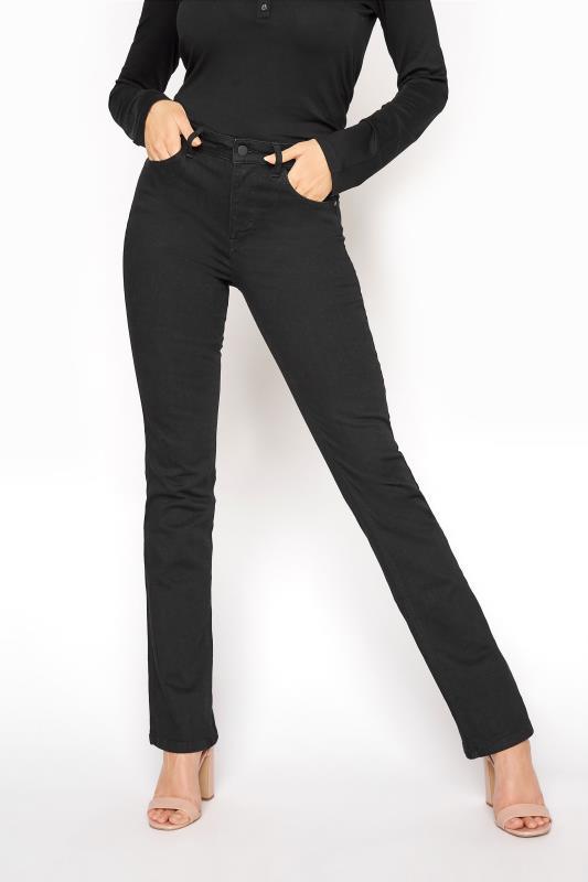 Black Ultra Stretch Bootcut Jeans_B.jpg