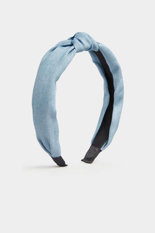 Light Denim Blue Knot Headband_A.jpg