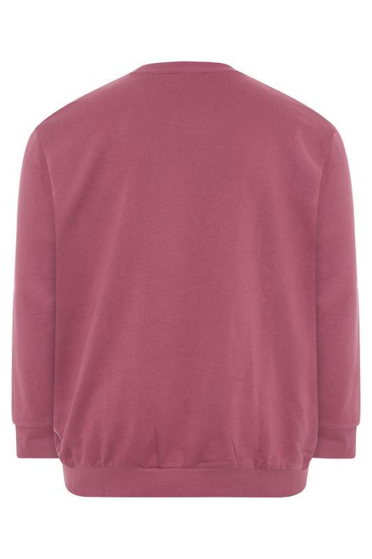 JACK & JONES Burgundy Move Logo Sweatshirt