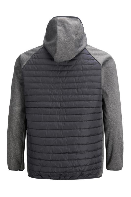 JACK & JONES Grey Quilted Jacket_BK.jpg