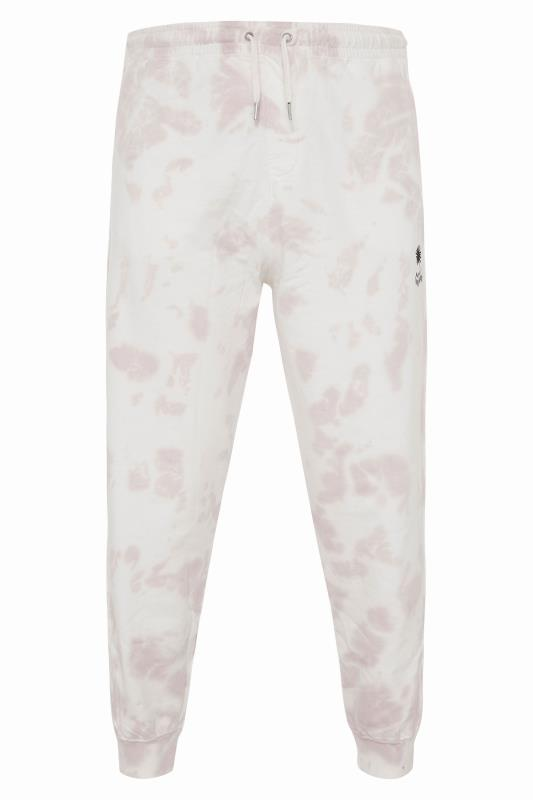 Tallas Grandes ANOTHER INFLUENCE White Tie Dye Joggers