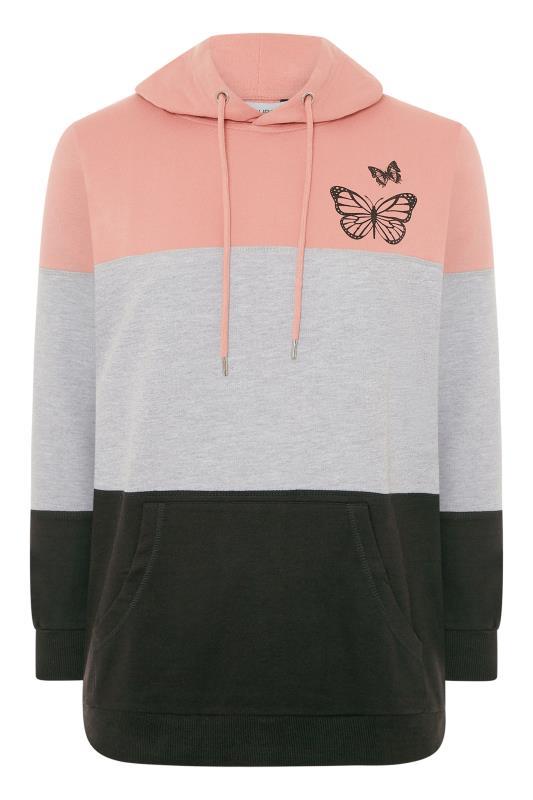 Pink Colourblock Butterfly Hoodie_F.jpg
