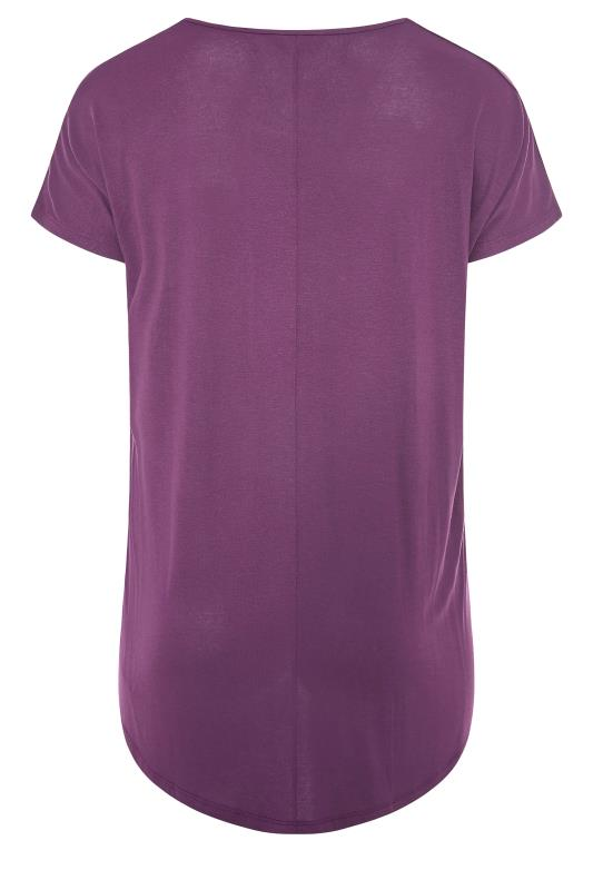 Purple Grown On Sleeve T-Shirt_BK.jpg