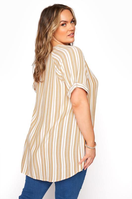 Yellow Stripe Raglan Sleeve Shirt_C.jpg