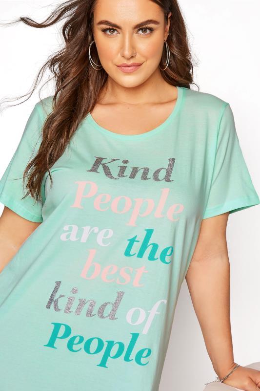 Mint Green 'Kind People' Dip Back Nightdress_D.jpg
