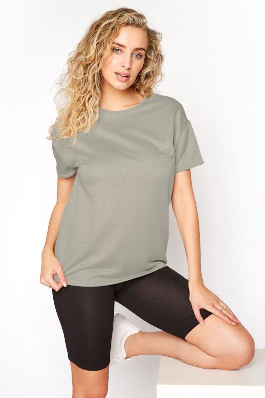 LTS Khaki Jersey Sweat T-Shirt_A.jpg