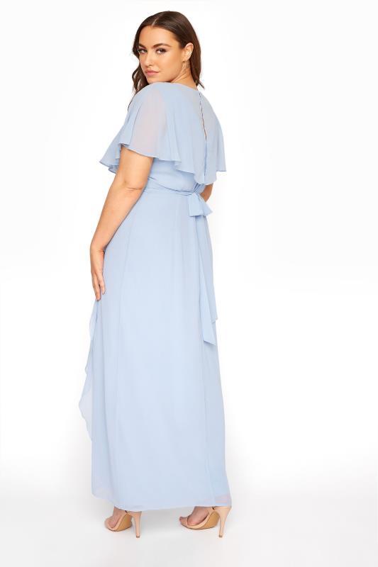 Light Blue Angel Sleeve Maxi Dress_C.jpg