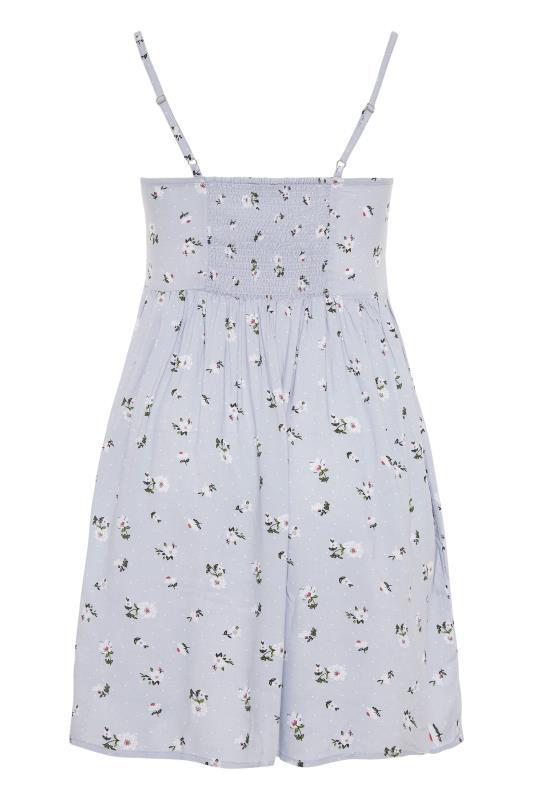 Blue Ditsy Floral Strappy Dress_BK.jpg