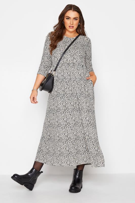 Black Ditsy Pocket Midaxi Dress_B.jpg
